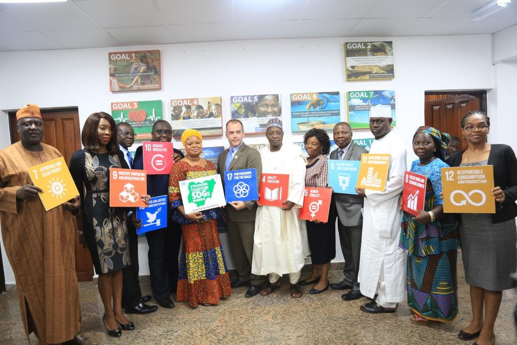 Image result for UN pledges to support Nigeria's Sustainable Development Goals